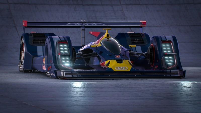 Audi LMP1 Concept – Belt Drive Hybrid